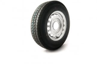 13 inch trailer wheel with 165-13c 8ply tyre 5.5 inch PCD to fit Ifor Williams 02