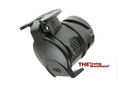 13 pin Euro socket to UK 7pin plug adaptor