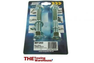 250 towball nuts & Bolts M16 x 90mm