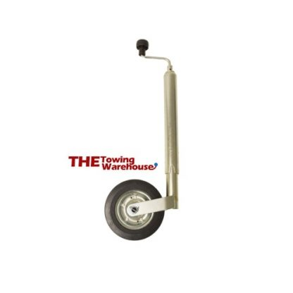 48mm Heavy Duty trailer jockey wheel and clamp to suit Brenderup 1150s,1205s etc 01