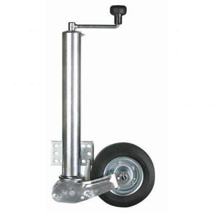 60mm Ultra Heavy Duty 60mm Knott Avonride RETRACTABLE trailer jockey wheel 02