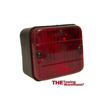 AJBA Rear Fog light for Trailers, Caravans, Trikes 022b-1