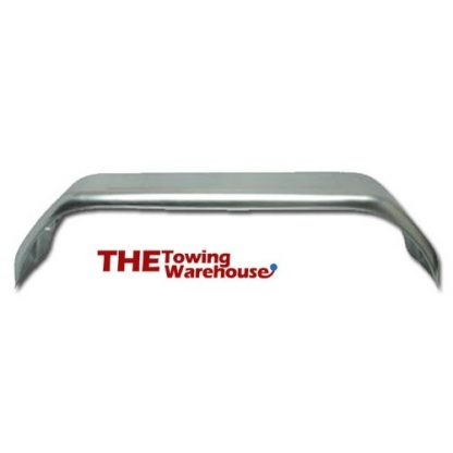 Double Axle Galvanised steel trailer mudguards for 13 and 14 inch wheels