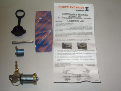 Genuine Knott-Avonride replacement coupling head lock set