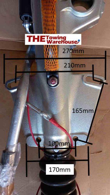 KFG27 100mm dimensions