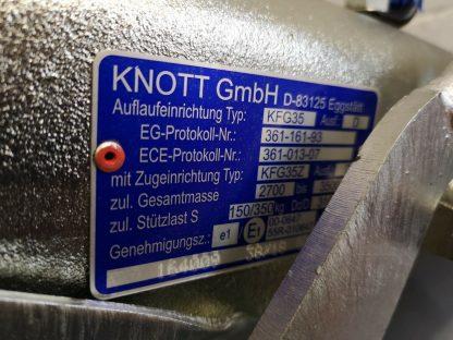 Knott 3500KG KFG35 plate