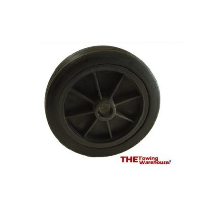 MP226 155mm Black Plastic Spare Wheel Fits MP225 Jockey Wheel
