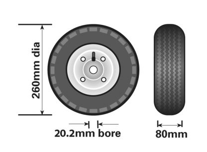 MP2291 jokey wheel diagram