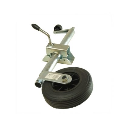 Maypole 34mm Telescopic jockey wheel and clamp For ERDE trailers
