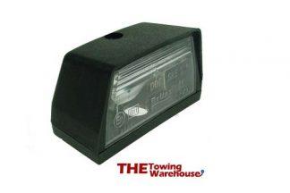 slimline rear number plate lamps-lights for Indespension trailers etc 982b
