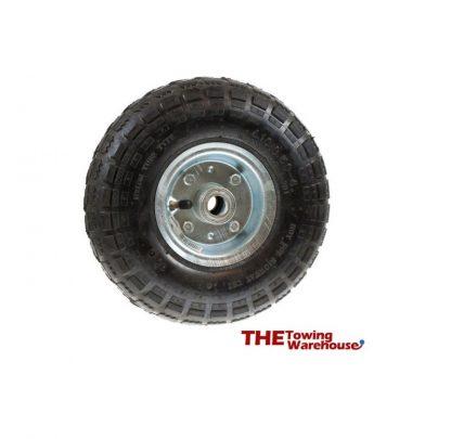 Pneumatic Heavy Duty Replacement Jockey Wheel for Caravans & Trailers
