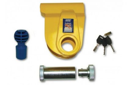 Stronghold Hitch lock For ALKO Brian James Caravan Trailer braked Couplings