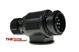 TOP QUALITY Euro type 13 pin plug for Caravans,Trailers