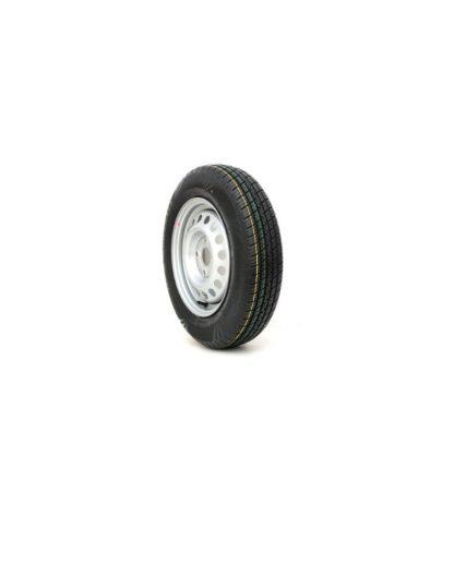 Trailer Wheel & Tyre 100mm PCD 145-80 13inch ANSSEMS BRENDERUP TEMA