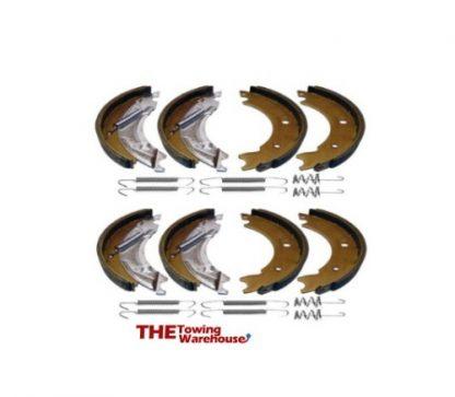 2 x Axle Set 200×40 Brake Shoes & Springs KNOTT Type