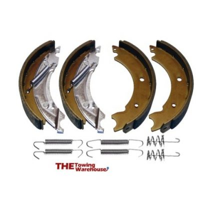 1 x Axle set 200x50mm Trailer Brake Shoes & Springs KNOTT Type