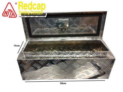 Aluminium Chequer Plate Storage-Tool Box Lockable lid trucks, trailers 2