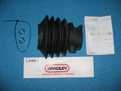 Genuine Bradley Kit 2039 rubber bellows for HU12-14 3500 kg trailer couplings