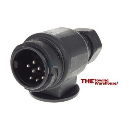 MP1288B 12V 8 Pin Plastic Plug (13 Pin Type Plug)