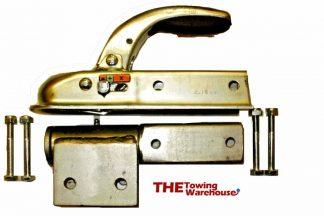 Quad,ATV,Trailer swivel-rollover hitch kit inc Knott-Avonride 50mm Coupling 1