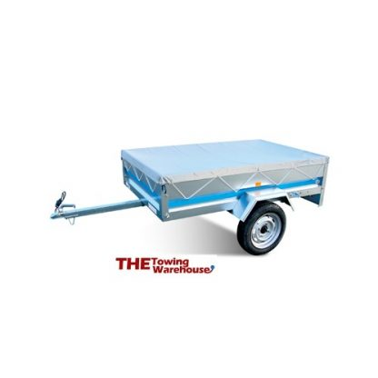 Flat trailer cover