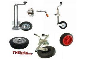 Trailer and caravan jockey wheels for sale