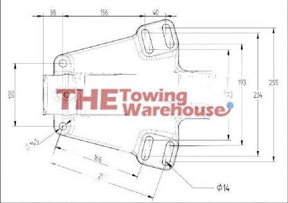 Knott 3500KG KFG35C coupling Ifor diagram williams trailers 05