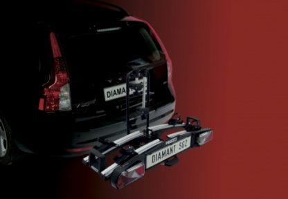 Pro user bike rack SG2 on car