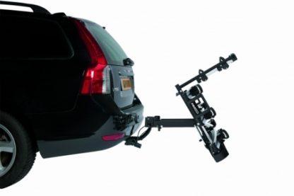 Pro user bike rack SG3 folded down on car