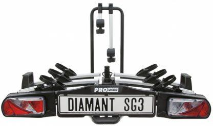 Pro user bike rack SG3 for 3 bikes