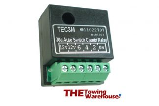 TEC3M self switching dual charge relay
