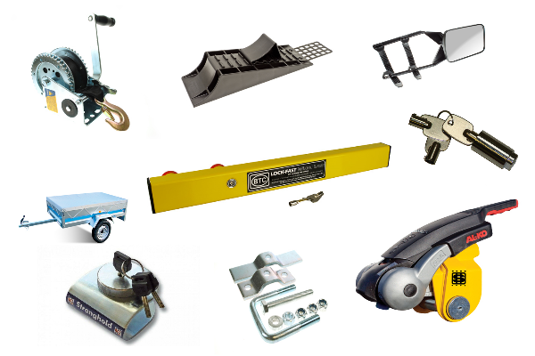 Trailer Parts & Accessories Parts & Accessories for Caravans and Trailers