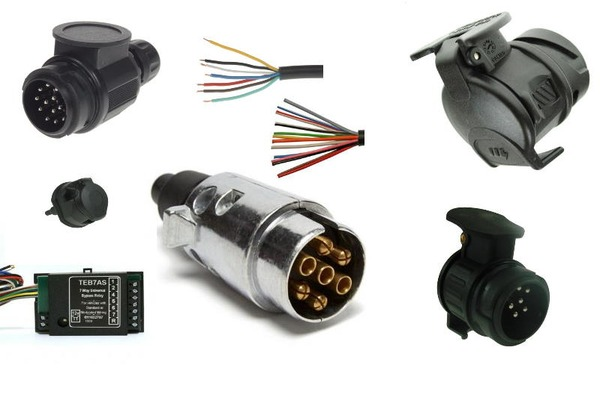 Trailer Parts & Accessories electrics plugs and sockets