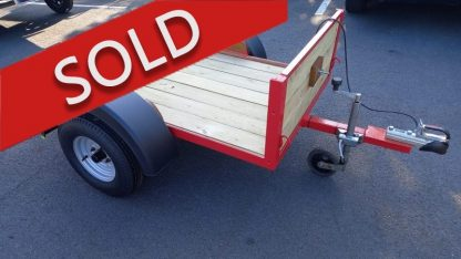 second-hand trailer for sale