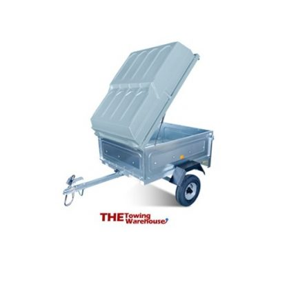 Lockable ABS cover for Erde trailers