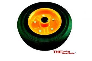 KARTT Replacement Rubber Trailer Jockey Wheel
