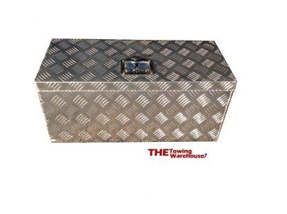 Large Aluminium Chequer Plate Storage Tool Box