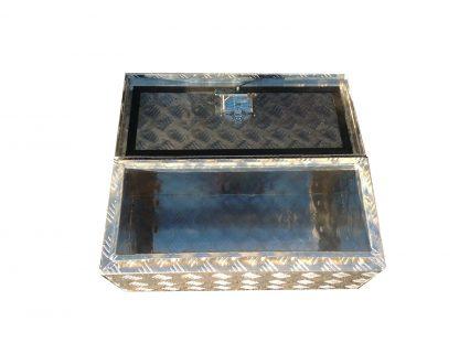 Large Aluminium Chequer Plate Storage Tool Box 3