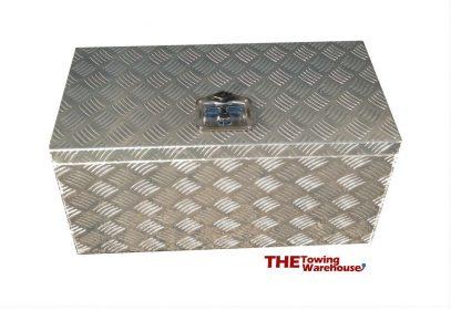Very Large Aluminium Chequer Plate Storage Tool Box