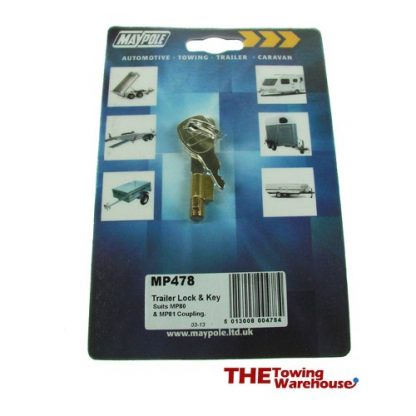 MP478dp basic trailer lock and key
