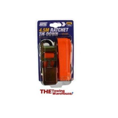 607MP607 600Kg Ratchet Strap & Hooks