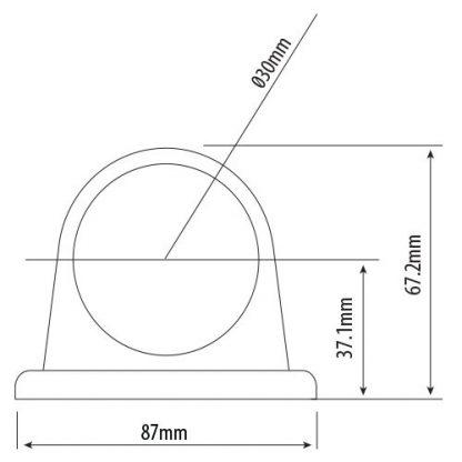 LED Rubber Side Marker 02