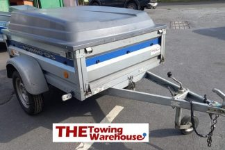 Second hand Lider Saragos Trailer with, ABS Lid & Spare wheel with carrier