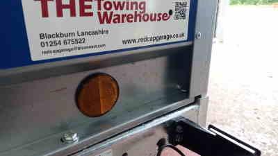lider 04161hsp reflectors on lider trailer on trailer